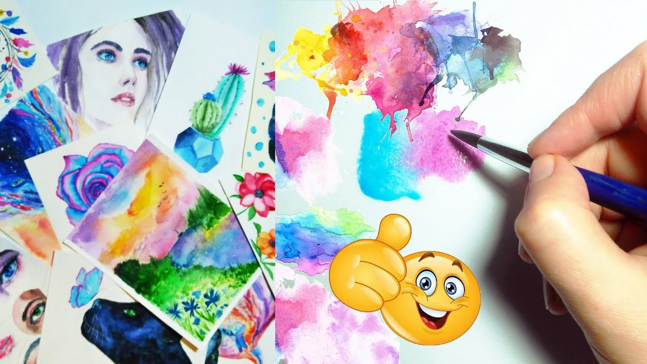 Painting: video compilation