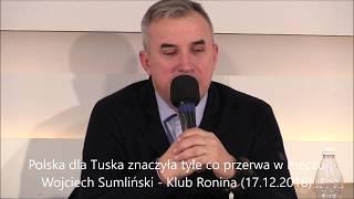 Wojciech Sumlińki: Polska dla Tuska znaczyła tyle co przerwa w meczu