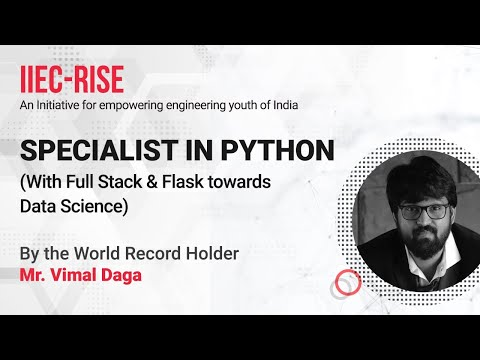 Session 1: Instructor-led Live Training on Python full cours