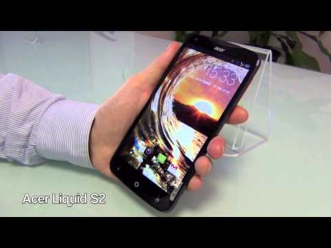 Acer Liquid S2 - presentation FR