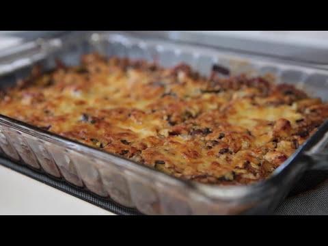 WIld Rice Casserole With Leftover Turkey