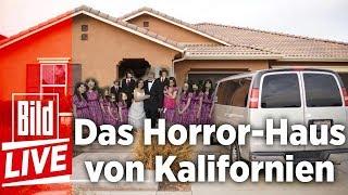 13 Kinder gerettet - Das Horror-Haus von Kalifornien - BILD Live 16.01.18