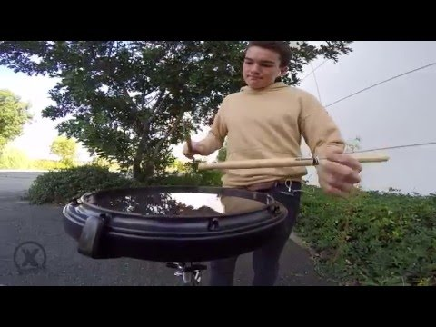 BRANDON OLANDER | Guest House Drums | Xymox Percussion Reserve Snare Drum Pad