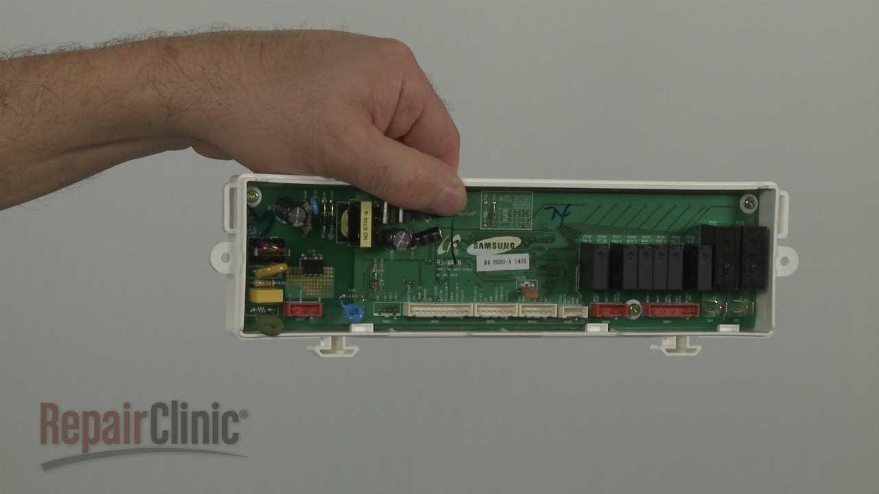 Samsung Dishwasher Main Control Board Dd8201739b