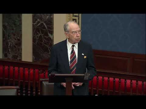 Grassley on Legislation to Increase Information Sharing and Stop Counterfeits