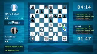 Download lagu Chess Game Analysis Estoril11 RATU BOKEP 0 1 MP3