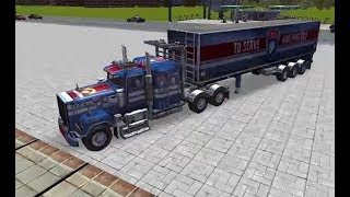 SKILL 3D PARKING - THUNDER TRUCKS GAME LEVEL 1-6 WALKTHROUGH