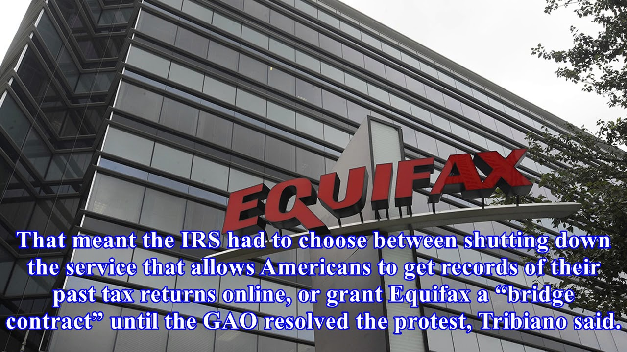 IRS defends Equifax contract amid Hill outcry