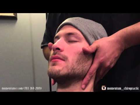 First Chiropractic Adjustment on a Military Veteran
