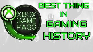 XBOX GAME PASS   THE MOST PRO-CONSUMER SERVICE IN GAMING HISTORY!