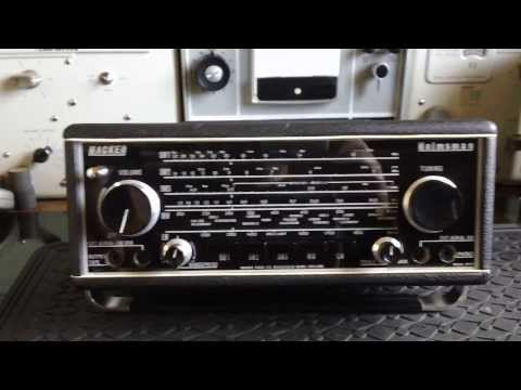 Hacker Helmsman transistor radio