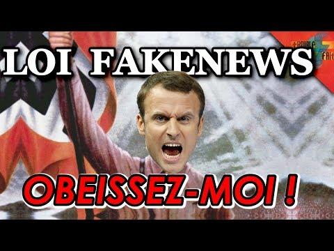 Loi Fake news : Fin de la liberté de la presse ?