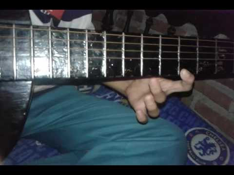Melodi gitar lagu rumah bujang yg lucu