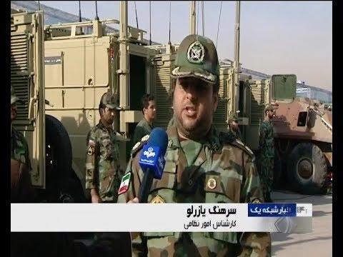 Iran Army made Kian 500 Tank transporter, Night vision watch tower, Tank helmet, Telecom shelters