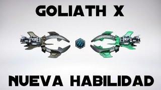    NUEVA habilidad de la Goliath X - Análisis    Recetas restantes    DarkOrbit   
