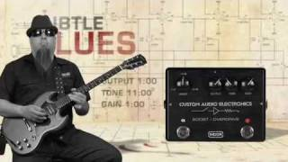 MXR Custom Audio Electronics MC-402 Boost / Overdrive Pedal Video Demo