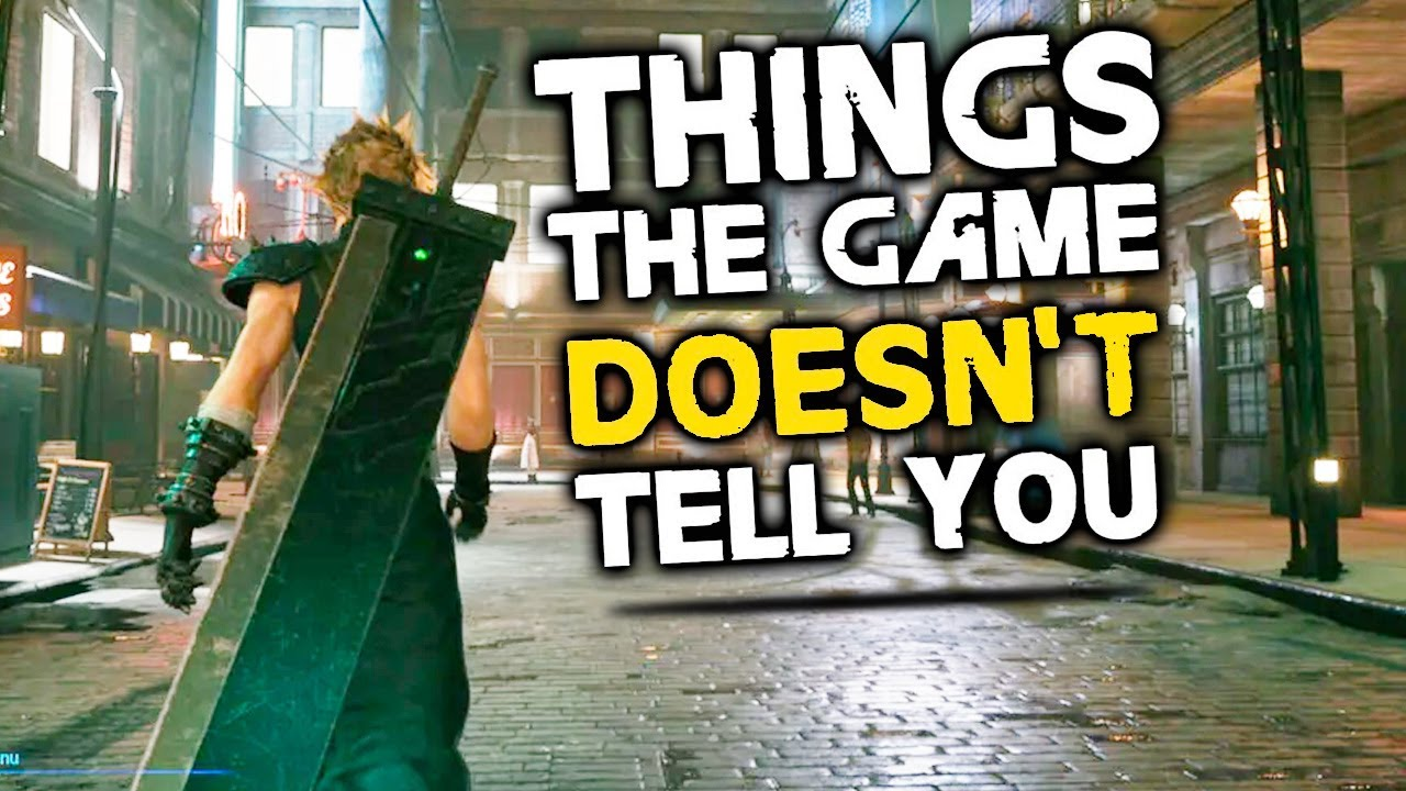 Final Fantasy 7 Remake: 10 Things The Game Doesn't Tell You