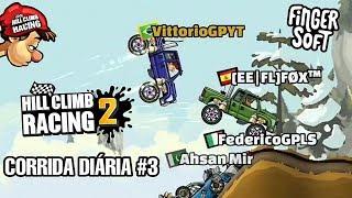 CORRIDA DIÁRIA #3   Hill Climb Racing 2