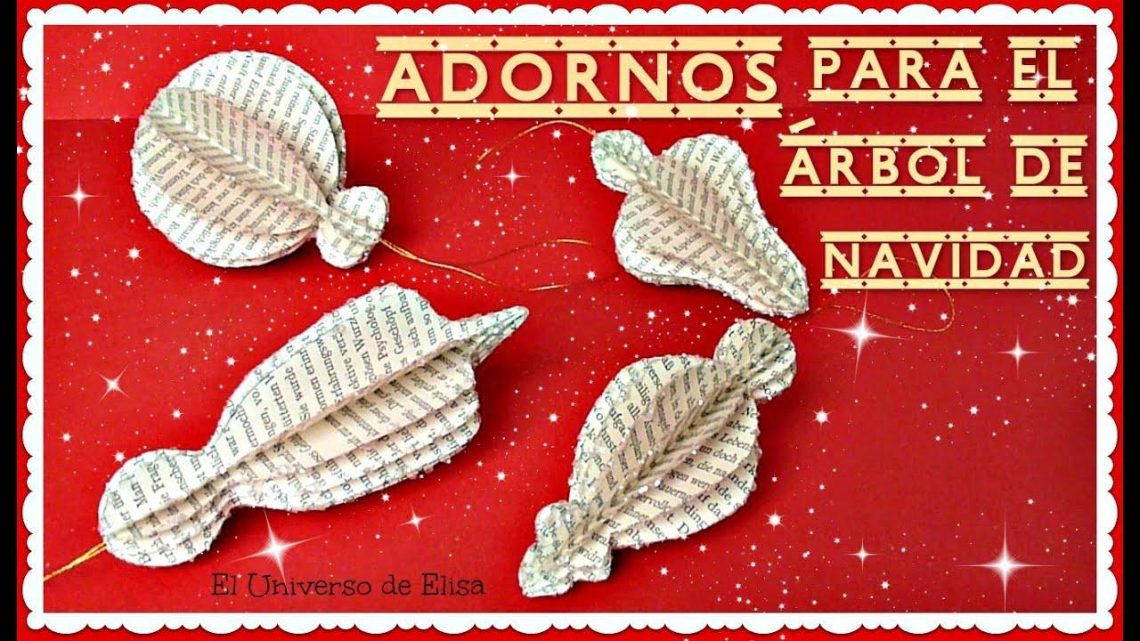Decora tu rbol de navidad c mo hacer adornos para el - Decora tu arbol de navidad ...