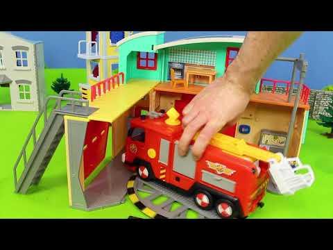 Fire Truck Toys: Lego Duplo, Fireman Sam, Bruder & Paw Patrol Toy Vehicles for Kids