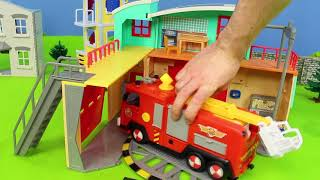 Download Fire Truck Toys: Lego Duplo, Fireman Sam, Bruder & Paw Patrol Toy Vehicles for Kids Mp3 and Videos