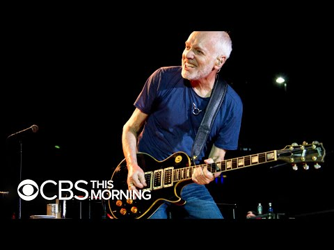 Peter Frampton reveals rare muscular disease is why his next tour will be his last