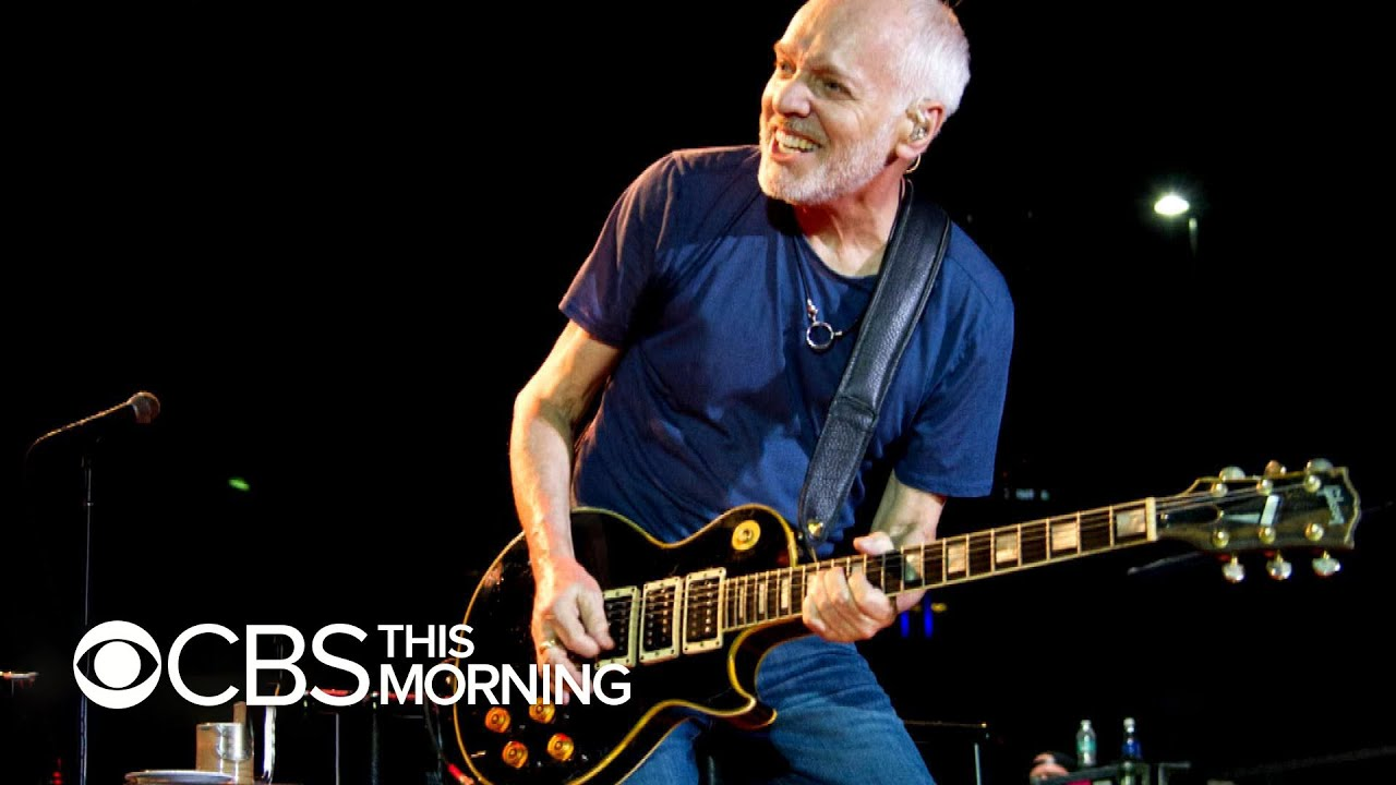 peter frampton reveals rare muscular disease is why his next tour will be his last youtube. Black Bedroom Furniture Sets. Home Design Ideas