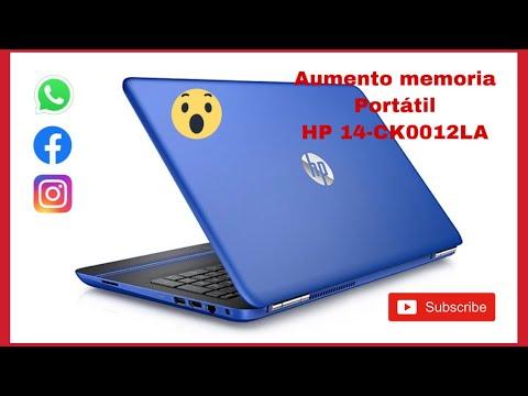 Actualizar Memoria - Aumentar memoria hp 14 ck0012la - Cambio memoria HP 14-ck