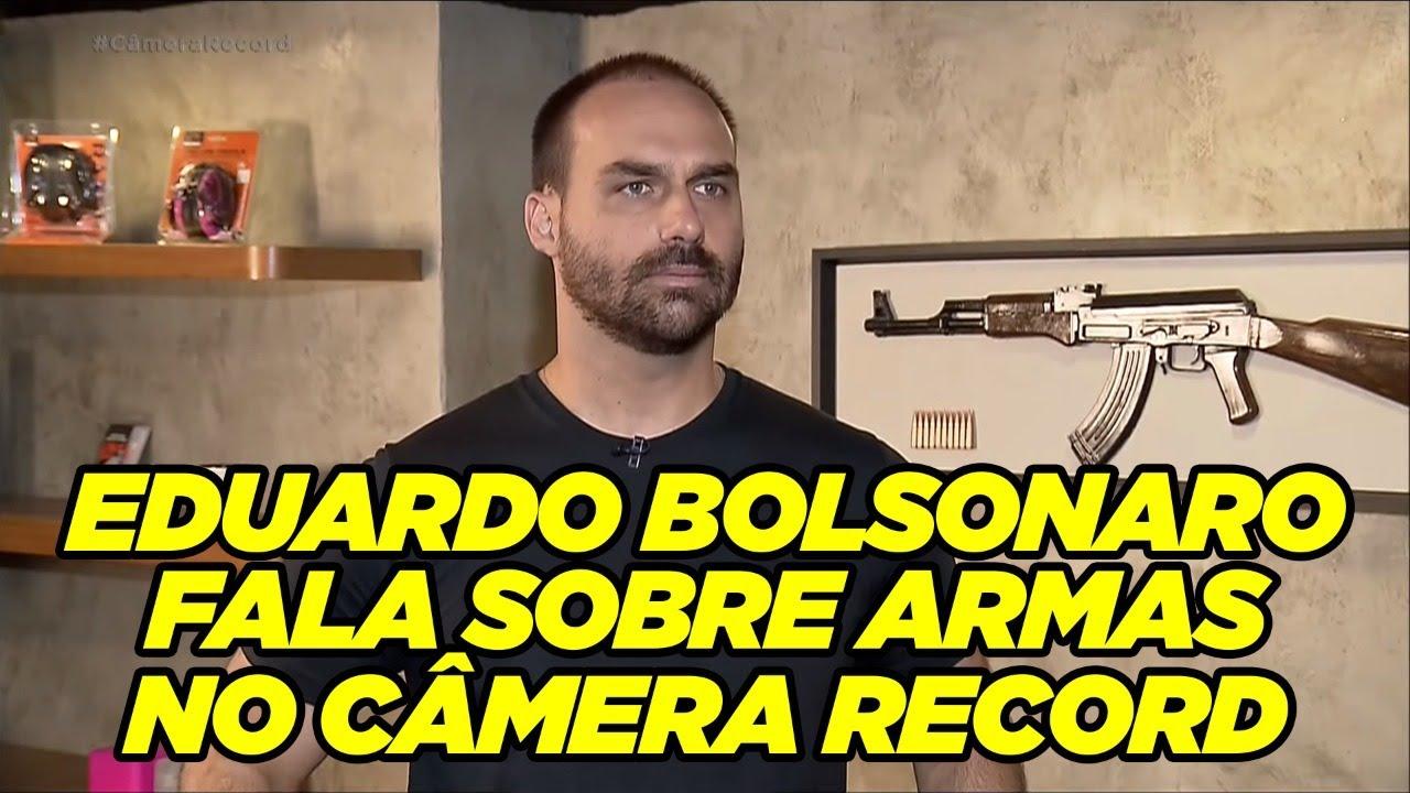 Eduardo Bolsonaro no Câmera Record: Armas do Brasil (12/JUL/2020)