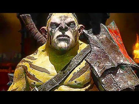 SHADOW OF WAR - 36 Minutes of NEW Gameplay Epic Loot (PS4, XBOX ONE, PC)