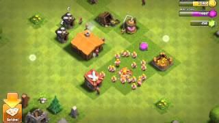 Clash of clans oynuyoruz ( savunmasız köy 1.bölüm)