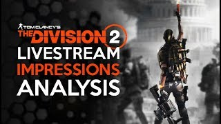 Division 2 Early Access Stream