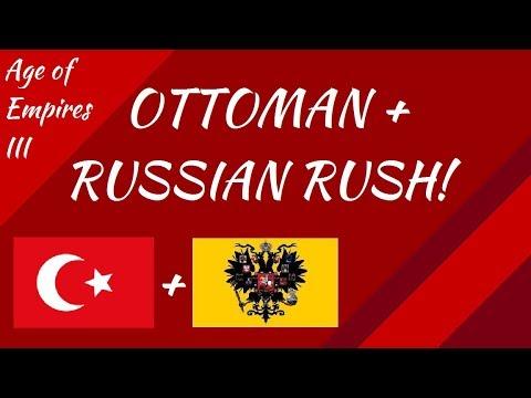 Ottoman and Russian Rush! AoE III