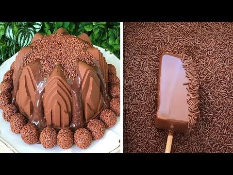 18+ So Yummy Chocolate Cake Decorating Recipes | Most Satisfying Chocolate Cake Video | Top Yummy