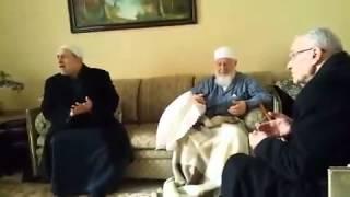 إنشاد في حضرة الشيخ هشام برهاني