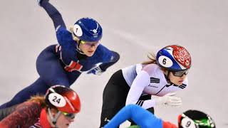 Winter Olympics 2018 Elise Christie c rashes out of the 500m final as she blows chance of Team