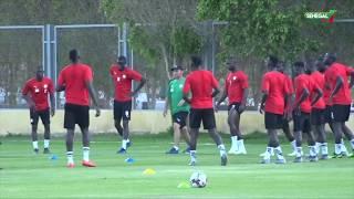 Équipe nationale du Sénégal: Séance d'entrainement des lions