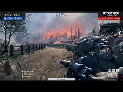 [NAC] North American Canucks vs [ETF] Epic Team Friends | Frontlines 8v8 | Clan Division 2