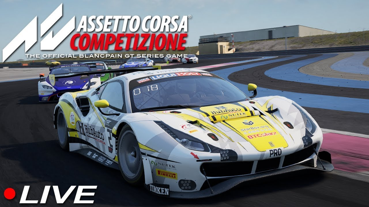 Assetto Corsa Competizione Wild Racing With My Community   Live