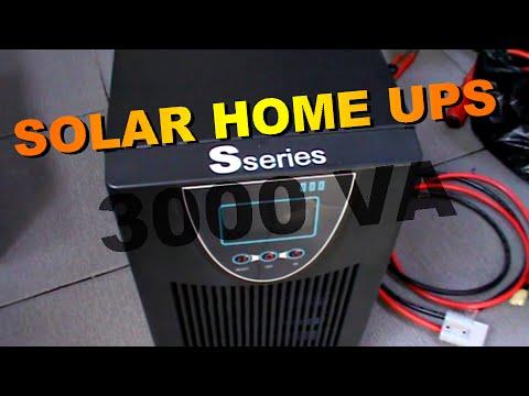 S Series Solar Home UPS/Hybrid Inverter 2400 Watt - UPS Tenaga Surya Pengganti Listrik PLN