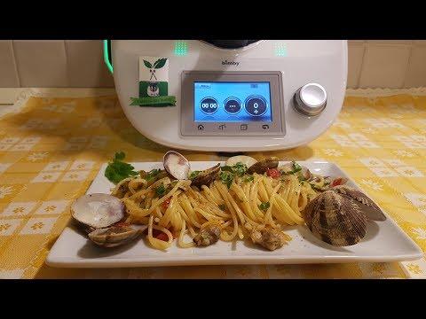 Spaghetti con vongole veraci per bimby TM6 TM5 TM31