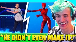NINJA Reacts To Fortnite SUED by BACKPACK KID for FLOSS DANCE! - Fortnite FUNNY Moments