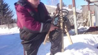 Как легко стянуть пружину в полевых условиях 2