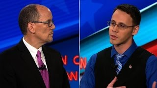 Candidates address DNC 'rigged' claims