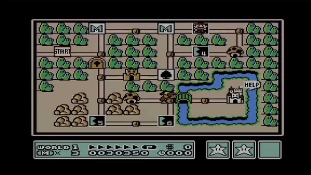Super Mario Bros 3 - All Warp Whistle Locations