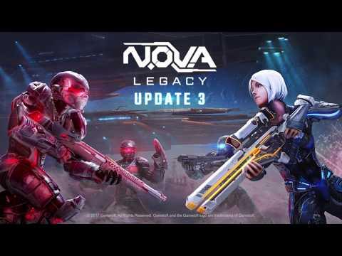 N.O.V.A. Legacy – Update 3 Trailer