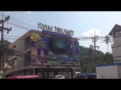 จอ LED Billboard ภูเก็ต ป่าตอง โรงละครสยามนิรมิต