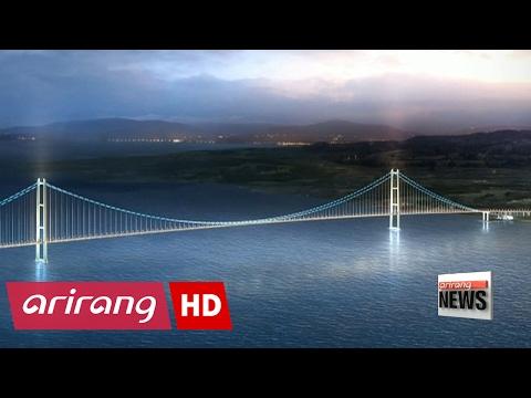 Korea wins US$ 3 bil. bid to build world's longest suspension bridge in Turkey