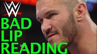 WWE BAD LIP READING - ROYAL RUMBLE 2014