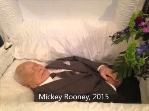 Famous People with Open Casket Funerals Video, Vol. 1